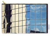 Warped Harbour Bridge Reflection By Kaye Menner Carry-all Pouch