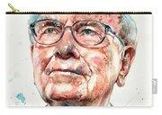 Warren Buffett Portrait Carry-all Pouch