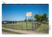 Warrenton Texas Antique Days Park Here Carry-all Pouch