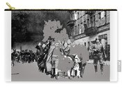 Warsaw Ghetto Uprising Number 1 1943 Color Added 2016 Carry-all Pouch