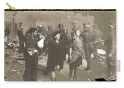 Warsaw Ghetto Uprising Number 2 1943 Color Added 2016 Carry-all Pouch