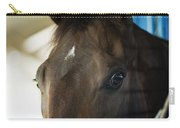 Wary Racehorse Carry-all Pouch