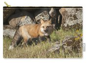 Wary Red Fox Carry-all Pouch