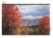 212m45-wasatch Mountains In Autumn  Carry-all Pouch