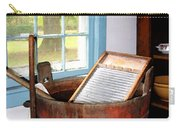 Washboard Carry-all Pouch by Susan Savad