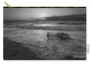 Washed Up Crab Cage 16x9 Bw Carry-all Pouch