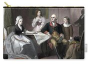 Washington And His Family Carry-all Pouch