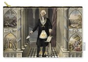 Washington As A Freemason Carry-all Pouch