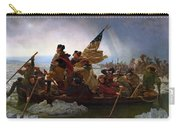 Washington Crossing The Delaware Painting - Emanuel Gottlieb Leutze Carry-all Pouch