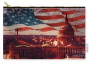 Washington Dc Building 76h Carry-all Pouch
