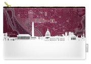 Washington Dc Skyline Map 3 Carry-all Pouch