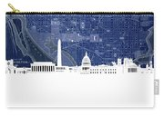 Washington Dc Skyline Map 4 Carry-all Pouch