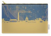 Washington Dc Skyline Map2 Carry-all Pouch