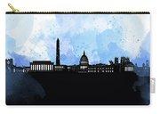Washington Dc Skyline Minimalism 8 Carry-all Pouch