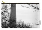 Washington Monument Bw Carry-all Pouch