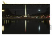 Washington Monument In Reflection Carry-all Pouch
