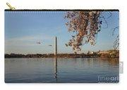 Washington Monument Carry-all Pouch by Megan Cohen