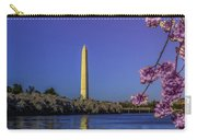 Washington Reflection And Blossoms Carry-all Pouch