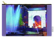 Washington Square Fountain 13c Carry-all Pouch