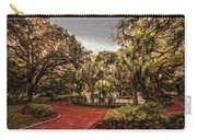 Washington Square In Mobile Alabama Painted Carry-all Pouch