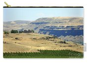 Washington Stonehenge With Vineyard Carry-all Pouch