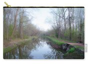 Washingtons Crossing - Along The Delaware Canal Carry-all Pouch