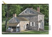 Washington's Headquarters At Valley Forge Carry-all Pouch