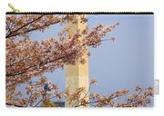 Washinton Monument In Spring Carry-all Pouch