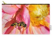 Wasp And Flower Carry-all Pouch