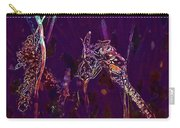 Wasp Insect Makrom Close Up Sting  Carry-all Pouch