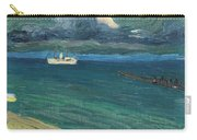 Wassily Kandinsky 1866 - 1944 Rapallo, Seascape With Steamer Carry-all Pouch