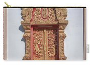 Wat Buppharam Phra Wihan Window Dthcm1581 Carry-all Pouch