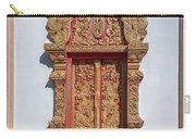 Wat Buppharam Phra Wihan Window Dthcm1582 Carry-all Pouch