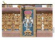 Wat Chedi Mae Krua Wihan Veranda Rail Decorations Dthcm1847 Carry-all Pouch
