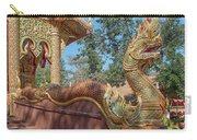 Wat Suan Prig Phra Wihan Makara And Naga Guardian Dthcm2395 Carry-all Pouch