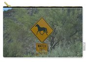 Watch For Horses Carry-all Pouch