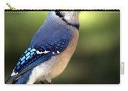 Watchful Blue Jay Carry-all Pouch