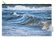 Watching The Waves Carry-all Pouch