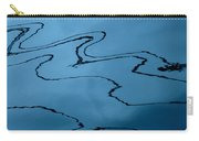 Water Abstract - 6 Carry-all Pouch