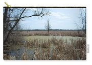 Water And Cattails Carry-all Pouch