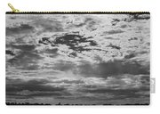 Water And Sky - Bw Carry-all Pouch
