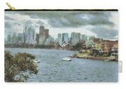 Water And Skyline Carry-all Pouch