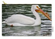 Water Bird With Notches Carry-all Pouch