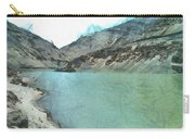 Water Body In The Himalayas Carry-all Pouch