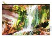 Water Cascading Carry-all Pouch