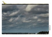 Water, Clouds And Sun. Carry-all Pouch