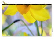 Water Color Daffodil Carry-all Pouch