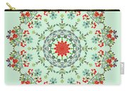 Water Color Garden Kaleidoscope Carry-all Pouch