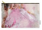 Water Colour Ballerina Carry-all Pouch