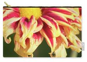 Water Drop On A Chrysanthemum Carry-all Pouch